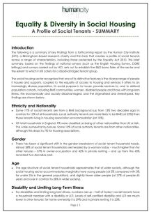 Pages of Pages of equality and diversity in social housing - a profile of tenants - summary_page_001