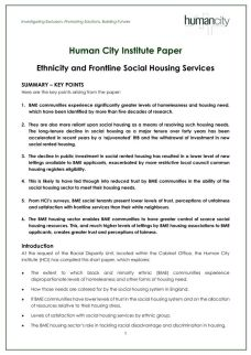 human city institute paper - ethnicity and frontline social housing services - 30th november 2018_page_001